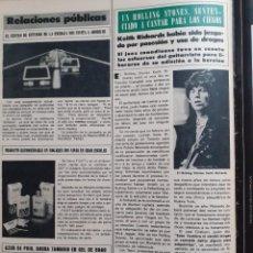 Coleccionismo de Revistas y Periódicos: KEITH RICHARDS THE ROLLING STONES . Lote 195344408