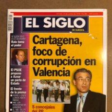 Coleccionismo de Revistas y Periódicos: EL SIGLO DE EUROPA N° 335 (1998). CORRUPCIÓN PP VALENCIA, RODRIGO RATO, PEDRO JOTA,.... Lote 195344703