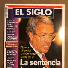 Coleccionismo de Revistas y Periódicos: EL SIGLO DE EUROPA N° 328 (1998). BARRIONUEVO PSOE, POLANCO, RATO VS GALLARDON,.... Lote 195344750