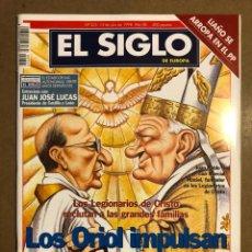 Coleccionismo de Revistas y Periódicos: EL SIGLO DE EUROPA N° 325 (1998). LOS ORIOL IMPULSAN AL NUEVO OPUS, LIAÑO SE ARROPA EN EL PP,.... Lote 195344821