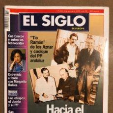 Coleccionismo de Revistas y Periódicos: EL SIGLO DE EUROPA N° 334 (1998). TÍO DE AZNAR FRANQUISTA, MARGARITA ROBLES,.... Lote 195344878