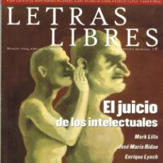 Coleccionismo de Revistas y Periódicos: LETRAS LIBRES Nº 30. MARZO 2004.. Lote 195345220