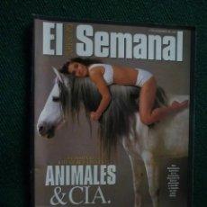 Coleccionismo de Revistas y Periódicos: SUPLEMENTO EL SEMANAL / ANIMALES & CIA. / Nº 423 - 1995. Lote 195353407