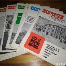Coleccionismo de Revistas y Periódicos: LOS 11 NÚMEROS REVISTA CERCAS BAJAS VITORIA KAS CICLISMO. Lote 195355776