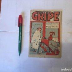 Coleccionismo de Revistas y Periódicos: CHISTES DE LA GRIPE , CUADERNILLO O REVISTA Nº 2 AÑO 1934 - XXXIV. Lote 195358278