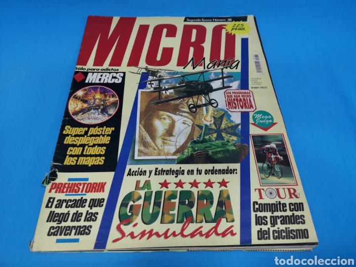 REVISTA MICROMANÍA NÚMERO 38 MICRO MANÍA (Coleccionismo - Revistas y Periódicos Modernos (a partir de 1.940) - Otros)