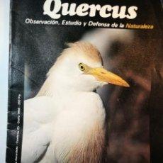 Coleccionismo de Revistas y Periódicos: **QUERCUS** REVISTA DE NATURALEZA,1986. Lote 195375007