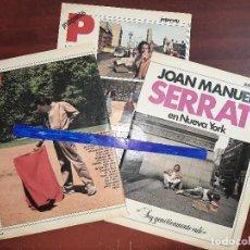 Coleccionismo de Revistas y Periódicos: JOAN MANUEL SERRAT EN NUEVA YORK - ENTREVISTA - RECORTE 4 PAG - REVISTA INTERVIU AÑO 1984. Lote 195376092