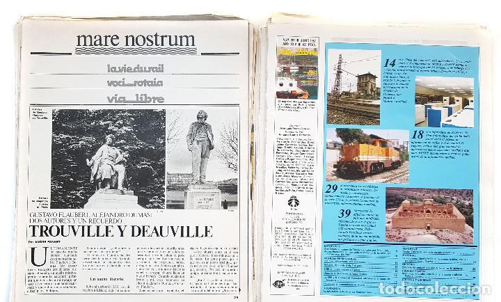 REVISTA FERROVIARIA, VIA LIBRE LOTE (Coleccionismo - Revistas y Periódicos Modernos (a partir de 1.940) - Otros)