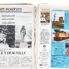 Coleccionismo de Revistas y Periódicos: REVISTA FERROVIARIA, VIA LIBRE LOTE. Lote 195377470