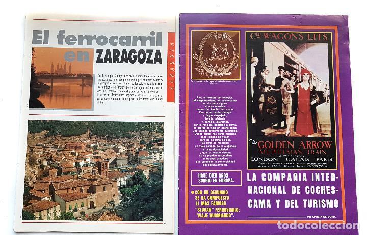 Coleccionismo de Revistas y Periódicos: REVISTA FERROVIARIA, VIA LIBRE LOTE - Foto 3 - 195377470