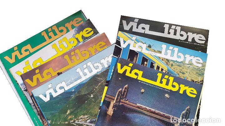 Coleccionismo de Revistas y Periódicos: REVISTA FERROVIARIA, VIA LIBRE LOTE - Foto 5 - 195377470