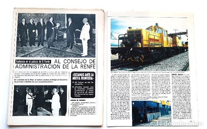 Coleccionismo de Revistas y Periódicos: REVISTA FERROVIARIA, VIA LIBRE LOTE - Foto 6 - 195377470