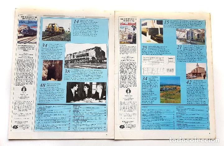 Coleccionismo de Revistas y Periódicos: REVISTA FERROVIARIA, VIA LIBRE LOTE - Foto 7 - 195377470