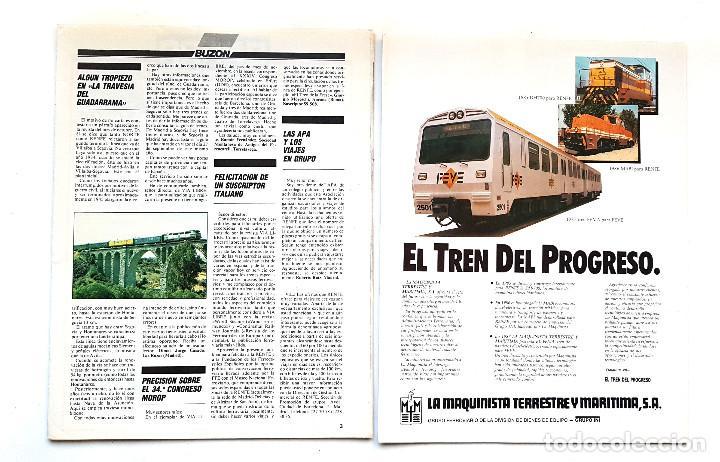 Coleccionismo de Revistas y Periódicos: REVISTA FERROVIARIA, VIA LIBRE LOTE - Foto 9 - 195377470