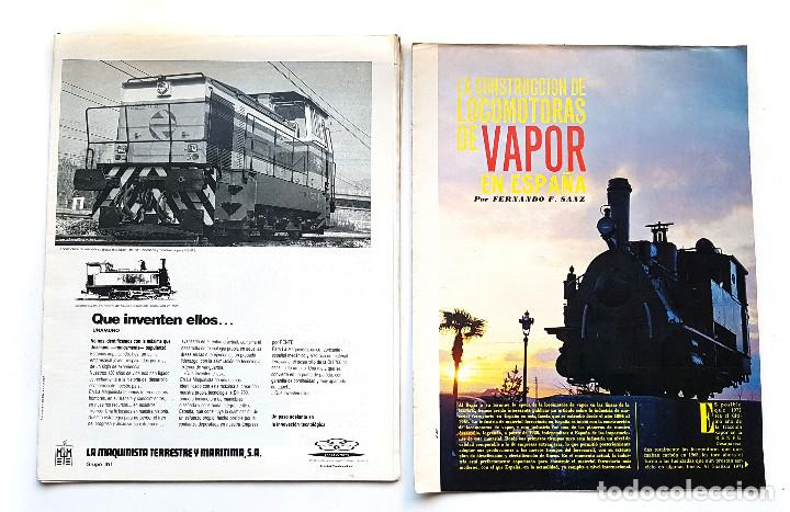 Coleccionismo de Revistas y Periódicos: REVISTA FERROVIARIA, VIA LIBRE LOTE - Foto 12 - 195377470