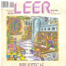 Coleccionismo de Revistas y Periódicos: LEER. Nº 46. OCTUBRE 1991.. Lote 195382077