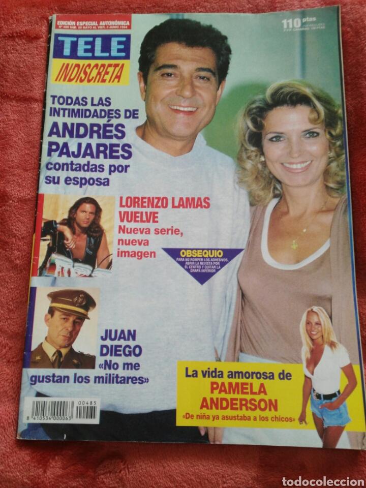 REVISTA TELE INDISCRETA N.485 AÑO 1994 (Coleccionismo - Revistas y Periódicos Modernos (a partir de 1.940) - Otros)
