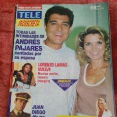 Coleccionismo de Revistas y Periódicos: REVISTA TELE INDISCRETA N.485 AÑO 1994. Lote 195384795