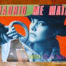 Coleccionismo de Revistas y Periódicos: MADRID ME MATA. Nº 9 : VIAJE AL CENTRO DE LA TIERRA ; JUNIO 85 / DIRECTOR: ÓSCAR MARINÉ BRANDI. Lote 195385415