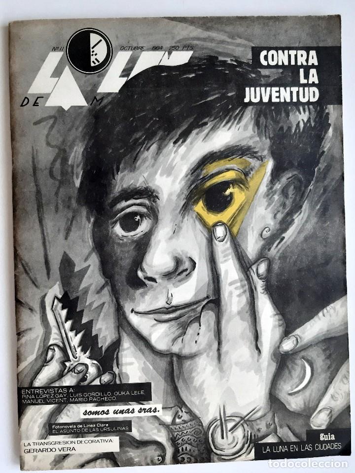 LA LUNA DE MADRID - 11 - OCTUBRE 1984 (Coleccionismo - Revistas y Periódicos Modernos (a partir de 1.940) - Otros)