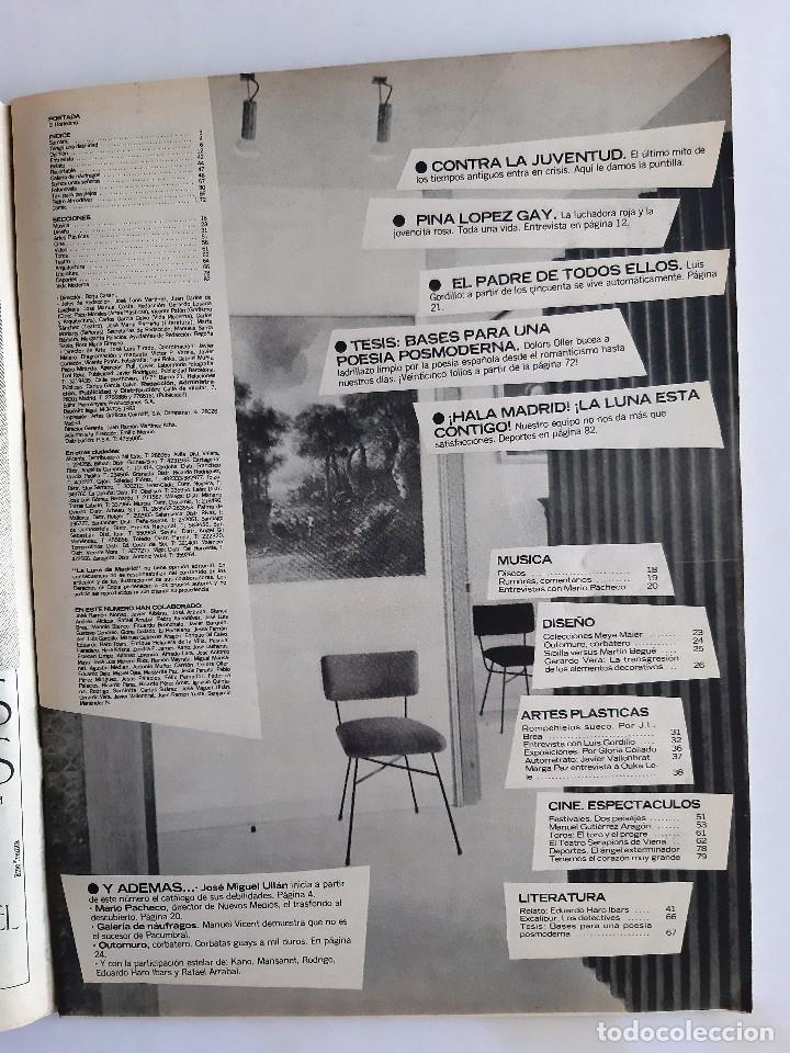 Coleccionismo de Revistas y Periódicos: LA LUNA DE MADRID - 11 - octubre 1984 - Foto 2 - 195386356