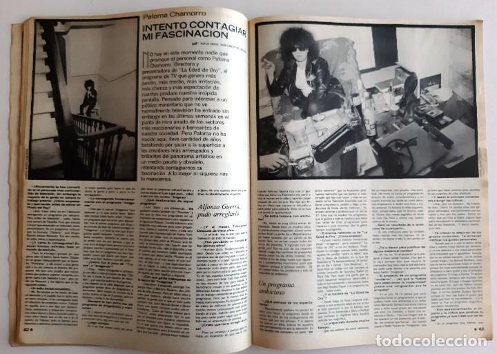 Coleccionismo de Revistas y Periódicos: LA LUNA DE MADRID - NOVIEMBRE 1984 - 12 - Foto 6 - 195386661