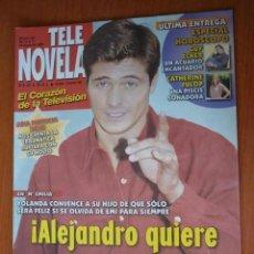 Coleccionismo de Revistas y Periódicos: REVISTA TELENOVELA Nº 385.AGO 2000. Lote 195391263