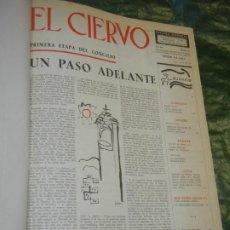Coleccionismo de Revistas y Periódicos: VOLUMEN ENCUADERNANDO EL CIERVO - 1963-1964 NUMEROS 111 A 130 (20 NUMS.). Lote 195392006