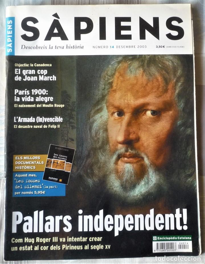 SÀPIENS Nº 14 (Coleccionismo - Revistas y Periódicos Modernos (a partir de 1.940) - Otros)