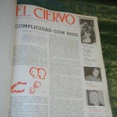 Coleccionismo de Revistas y Periódicos: VOLUMEN ENCUADERNANDO EL CIERVO - 1965-1966 NUMEROS 131 A 154 (24 NUMS.). Lote 195392321