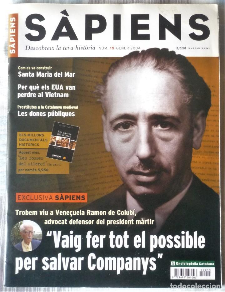 SÀPIENS Nº 15 (Coleccionismo - Revistas y Periódicos Modernos (a partir de 1.940) - Otros)