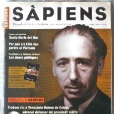 Coleccionismo de Revistas y Periódicos: SÀPIENS Nº 15. Lote 195392623