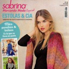 Coleccionismo de Revistas y Periódicos: SABRINA MARCANDO MODA ESPECIAL N. 28 (NUEVA). Lote 195407927