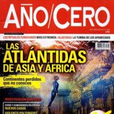 Coleccionismo de Revistas y Periódicos: AÑO CERO N. 340 - EN PORTADA: LAS ATLANTIDAS DE ASIA Y AFRICA (NUEVA). Lote 195408666