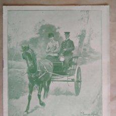Coleccionismo de Revistas y Periódicos: BLANCO Y NEGRO. AÑO 1898, Nº 353. VER FOTOS INTERIORES PARA DETALLES. Lote 195409305