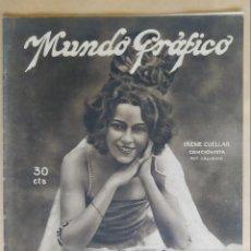Coleccionismo de Revistas y Periódicos: MUNDO GRAFICO. AÑO 1923, Nº 597. VICÁLVARO, RETAMARE, TEATRO COMICO, FUTBOL, CATARROJA, LA BAÑEZA, . Lote 195409595
