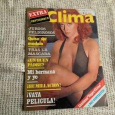 Coleccionismo de Revistas y Periódicos: REVISTA CLIMA Nº 1015 DAGMAR LASSANDER REVISTAS EROTICAS DE LOS AÑOS 70. Lote 195410447
