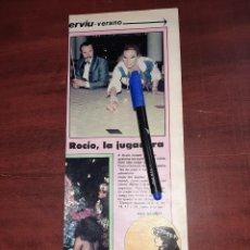 Coleccionismo de Revistas y Periódicos: ROCIO JURADO EN EL CASINO JUGANDO - RECORTE DE PAG - REVISTA INTERVIU AÑO 1982. Lote 195430046