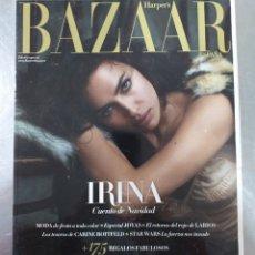 Coleccionismo de Revistas y Periódicos: REVISTA BAZAAR HARPERS - DICIEMBRE 2015 PORTADA IRINA SHAYX. Lote 195432851