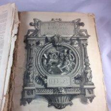 Coleccionismo de Revistas y Periódicos: LA ILUSTRACION ESPAÑOLA Y AMERICANA AÑO 1880 -TOMO II -SEGUNDO SEMESTRE-COMPLETO -(19445). Lote 195433320