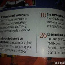 Coleccionismo de Revistas y Periódicos: REVISTA INTERVIU N° 1762 AÑO 2010 ESCLAVOS DEL CHOCOLATE COSTA DE MARFIL CACAO JUAN JOSE MILLAS . Lote 195439170