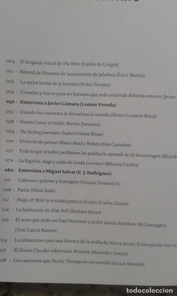 Coleccionismo de Revistas y Periódicos: JOT DOWN SMART Nº 27 DICIEMBRE 2017 LINDA LOVELACE. MIGUEL SALVAT. MATTHEW MC CONAUGHEY - Foto 2 - 195440846