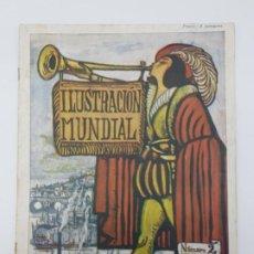 Coleccionismo de Revistas y Periódicos: ILUSTRACIÓN MUNDIAL ( Nº 2 ) 1914 ( GUERRA MUNDIAL ). Lote 195455771