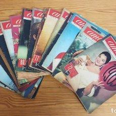 Coleccionismo de Revistas y Periódicos: LOTE 17 REVISTAS AMA-TODAS DEL AÑO 1963. VER FOTOGRAFÍAS.. Lote 195471228