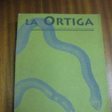 Coleccionismo de Revistas y Periódicos: LA ORTIGA 22-24 AÑO V. REVISTA CUATRIMESTRAL DE ARTE LITERATURA Y PENSAMIENTO.EDITORIAL LIMITE 1996.. Lote 195478341