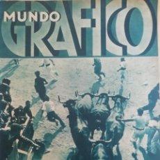 Coleccionismo de Revistas y Periódicos: MUNDO GRAFICO AÑO 1934 BODA MUNGUIA-ROMERIA NARANCO-ANDORRA . Lote 195493986