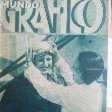 Coleccionismo de Revistas y Periódicos: MUNDO GRAFICO 1934 MUSICA EN ALPEDRETE DE LA SIERRA NAVAS DEL MADROÑO VEGAS DE MATUTE-ANDORRA. Lote 195494972