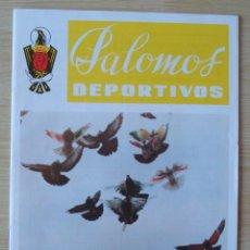 Coleccionismo de Revistas y Periódicos: PALOMOS DEPORTIVOS (REVISTA DE LA COLOMBICULTURA ESPAÑOLA) : NUMERO 72 - DICIEMBRE 1980. Lote 195501583