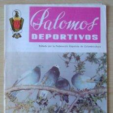Coleccionismo de Revistas y Periódicos: PALOMOS DEPORTIVOS (REVISTA DE LA COLOMBICULTURA ESPAÑOLA) : NUMERO 75 - SEPTIEMBRE 1981. Lote 195501716